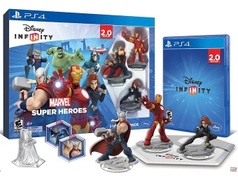 60% off Disney INFINITY: Marvel Super Heroes (2.0 Edition) PS4