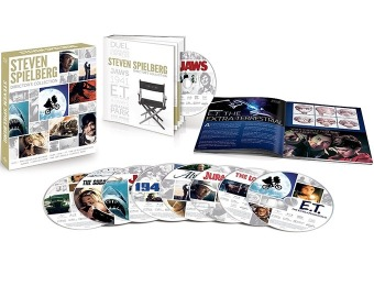 $172 off Steven Spielberg Director's Collection (Blu-ray)