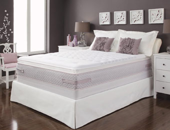 Up to $2451 off Sealy Gel Series Ti3 Plush Pilllowtop Mattresses
