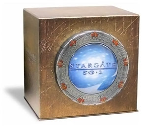 48% off Stargate SG-1: The Complete Series Collection, 54 DVDs
