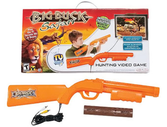 63% off Big Buck Hunter Safari Video Game