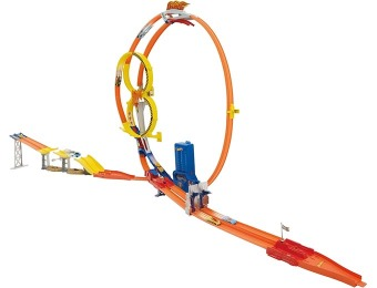 86% off Hot Wheels Super Loop Chase Race Trackset