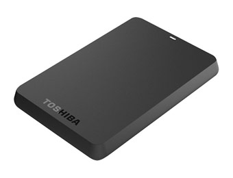 25% off Toshiba HDTC615XK3B1 Canvio 1.5TB External Hard Drive