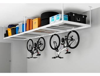 $71 off NewAge Products 4' x 8' Ceiling Mount Garage Storage Rack