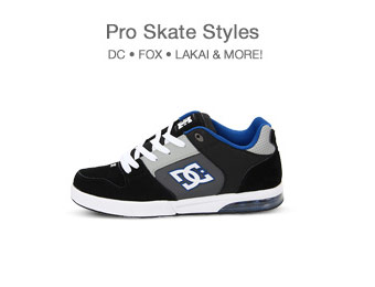 Up to 74% off Pro Skate Style Apparel, Shoes & Accessories