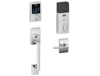 $442 off Schlage Connect Century Touchscreen Deadbolt with Alarm
