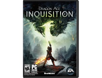 67% off Dragon Age: Inquisition (PC DVD) Video Game