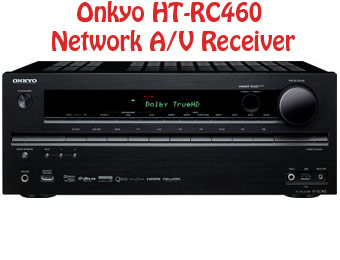 55% off Onkyo HT-RC460 7.2 CH Network A/V Receiver