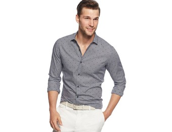 $85 off Michael Kors Slim-Fit Ted Printed Shirt