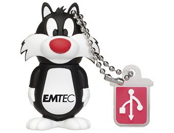 46% off EMTEC Looney Tunes Sylvester 4GB Flash Drive
