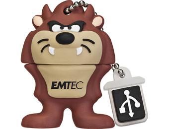 46% off EMTEC Looney Tunes Taz 4GB USB Flash Drive