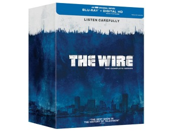 $102 off Wire: The Complete Series (20 Discs Boxed Set) (Blu-ray)
