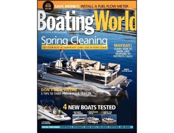 89% off Boating World Magazine (1 Year Subscription)