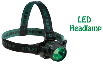 50% off Streamlight 61051 Trident Green LED Headlamp