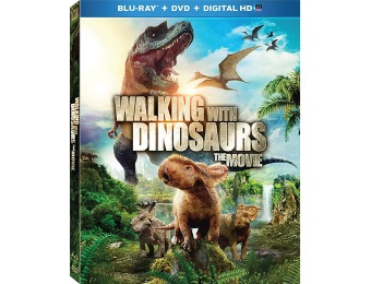 88% off Walking With Dinosaurs (Blu-ray + DVD + Digital HD Combo)