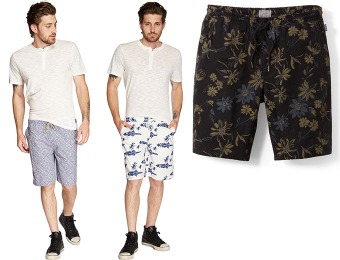 61% off Threads for Thought Printed Men's Walking Shorts