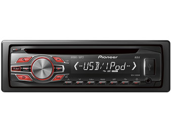 44% off Pioneer DEH-2400UB Apple Ready Car Receiver & Remote