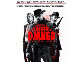80% off Django Unchained (Two-Disc Blu-ray Combo Pack)