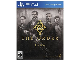 $40 off The Order: 1886 - PlayStation 4