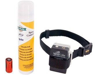 52% off Petsafe Anti-Bark Spray Collar, Citronella