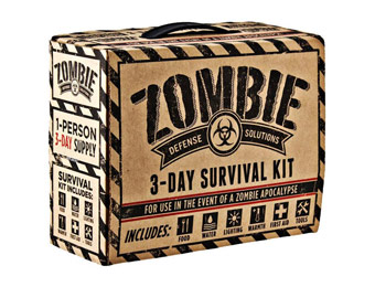68% off Zombie Defense Solutions 3-Day Survival Kit