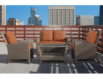 $688 off Grand Resort Mackay 4pc Patio Furniture Set