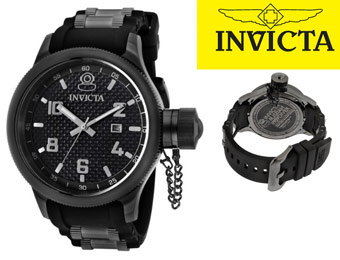 90% off Invicta 0555 Russian Diver Collection Swiss Men's Watch