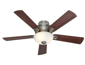 $98 off Hunter 28784 Princeton Antique Pewter Ceiling Fan