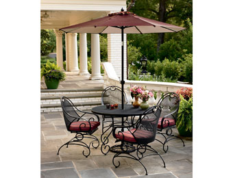 $250 off Country Living Stanton 5pc. Wrought Iron Patio Set