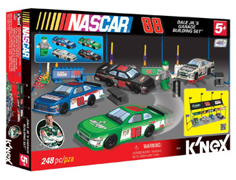 80% off K'Nex Nascar Dale Jr's Garage Building Set