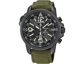 $272 off Seiko Prospex Men's Chronograph Solar Watch SSC295