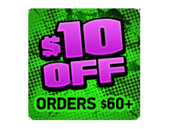 $10 off Order of $60 or More w/code: HULKSMASH@D2TR35