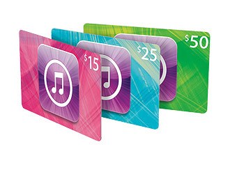 20% off iTunes Gift Cards