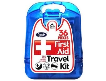 Deal: Family Care First Aid Kit - 36 pcs for Home, Office, Auto...