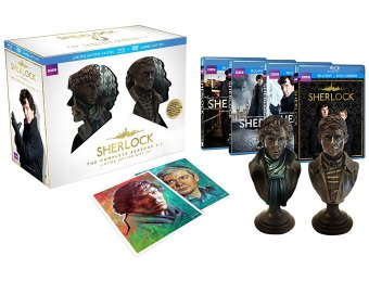 61% off Sherlock Seasons 1-3 Limited Edition Blu-ray Combo Gift Set