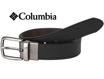 71% off Columbia Reversible Leather Belt