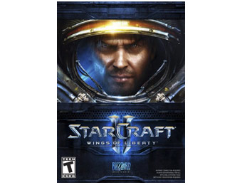 50% off Starcraft II: Wings of Liberty PC Game