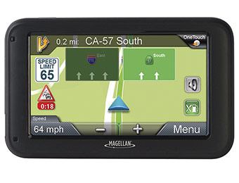 "50% off Magellan RoadMate 2230T-LM 4.3"" GPS - Lifetime Map Updates"