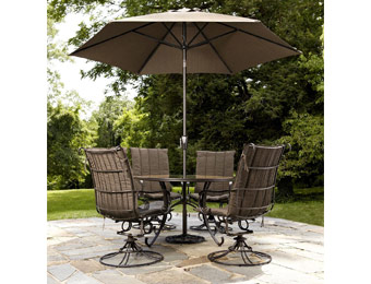 50% off Grand Resort Palmer 5pc Swivel Rocker Patio Dining Set