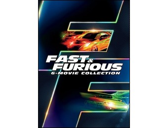 67% off Fast & Furious 6-Movie Collection (DVD)