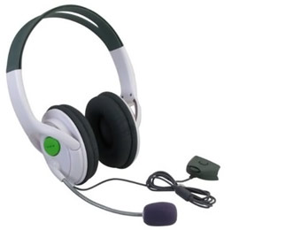 eForCity Xbox 360 Wireless Headset Headphone w/ Mic