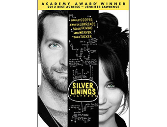 57% off Silver Linings Playbook DVD