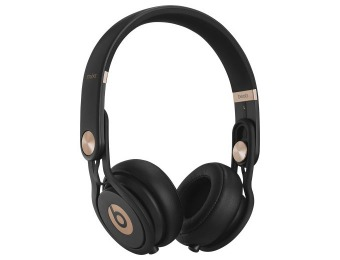 $100 off Beats by Dre Mixr On-Ear Headphones, Black & Rose Gold