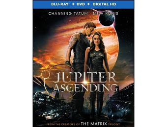 67% off Jupiter Ascending (Blu-ray + DVD + Digital HD)