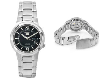 80% off Seiko SNKA23K Men's Stainless-Steel Automatic Watch
