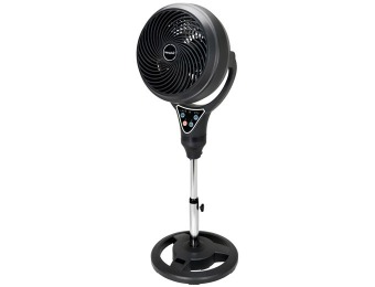 "$121 off NewAir AF-410BK 12"" 2-in-1 Tabletop & Pedestal Vortex Fan"