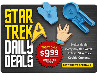Daily Deals on Star Trek Items from ThinkGeek.com