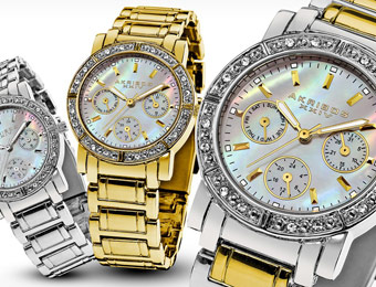 91% off Akribos XXIV Women's Watches, 6 Styles Available