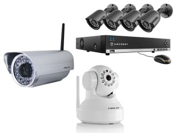 Up to 69% off Select Security Cameras & Systems at Home Depot