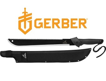 43% off Gerber 31-000758 Gator Machete with Sheath